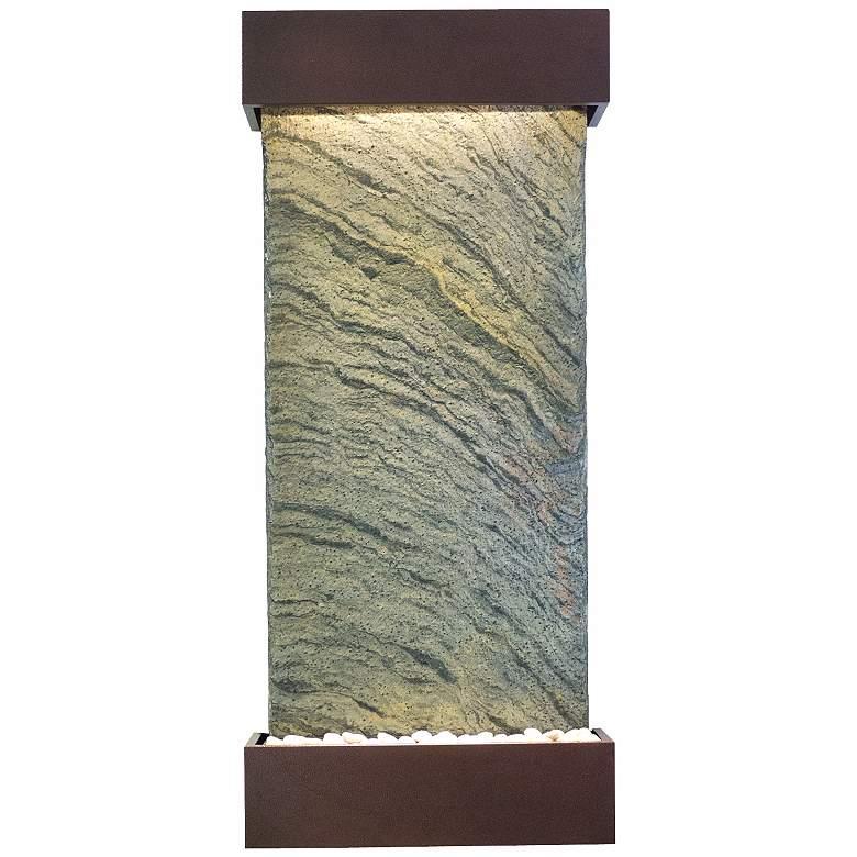 "Classic Quarry 58"" Jera Slate Coppervein Indoor Fountain"