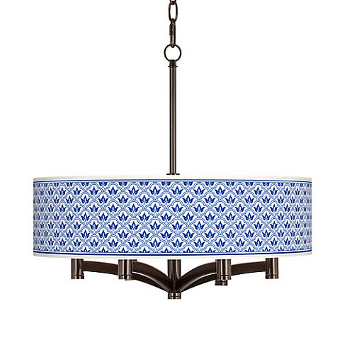 Arabella Ava 6-Light Bronze Pendant Chandelier