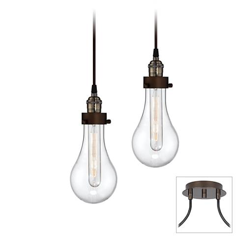 Coleman bronze 2 light swag pendant x9872 7c368 lamps plus coleman bronze 2 light swag pendant aloadofball Image collections