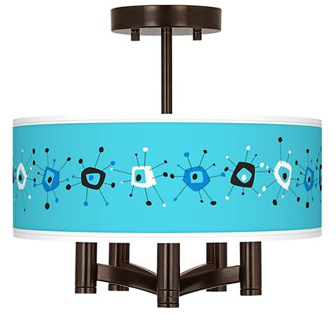 Sputnickle Ava 5-Light Bronze Ceiling Light