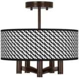 Waves Ava 5-Light Bronze Ceiling Light