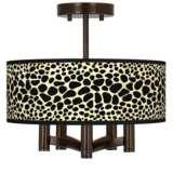 Leopard Ava 5-Light Bronze Ceiling Light