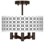 Quadrant Ava 5-Light Bronze Ceiling Light