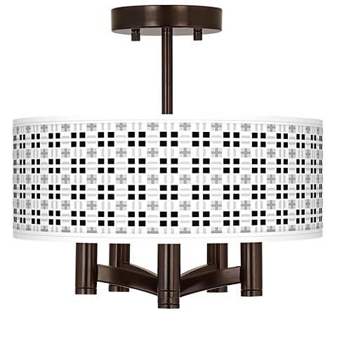 Quadrant Ava 5-Light Bronze Ceiling Light