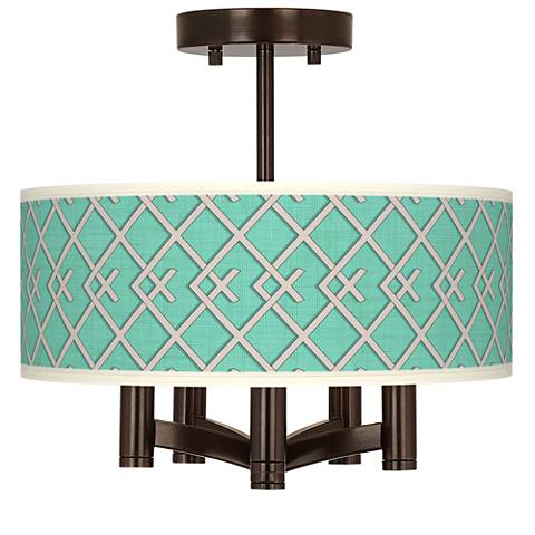 Crossings Ava 5-Light Bronze Ceiling Light
