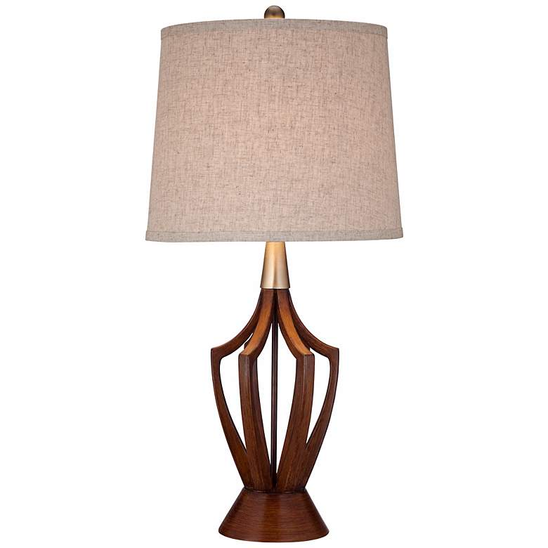 """St. Claire 31"""" High Mid-Century Modern Table Lamp"""