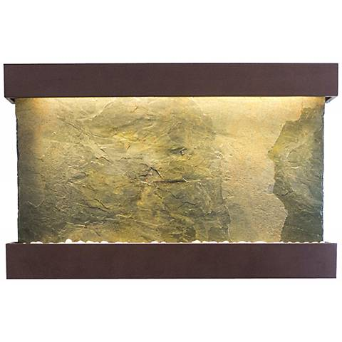 "Classic Quarry 33"" Slate Coppervein Powder Wall Fountain"