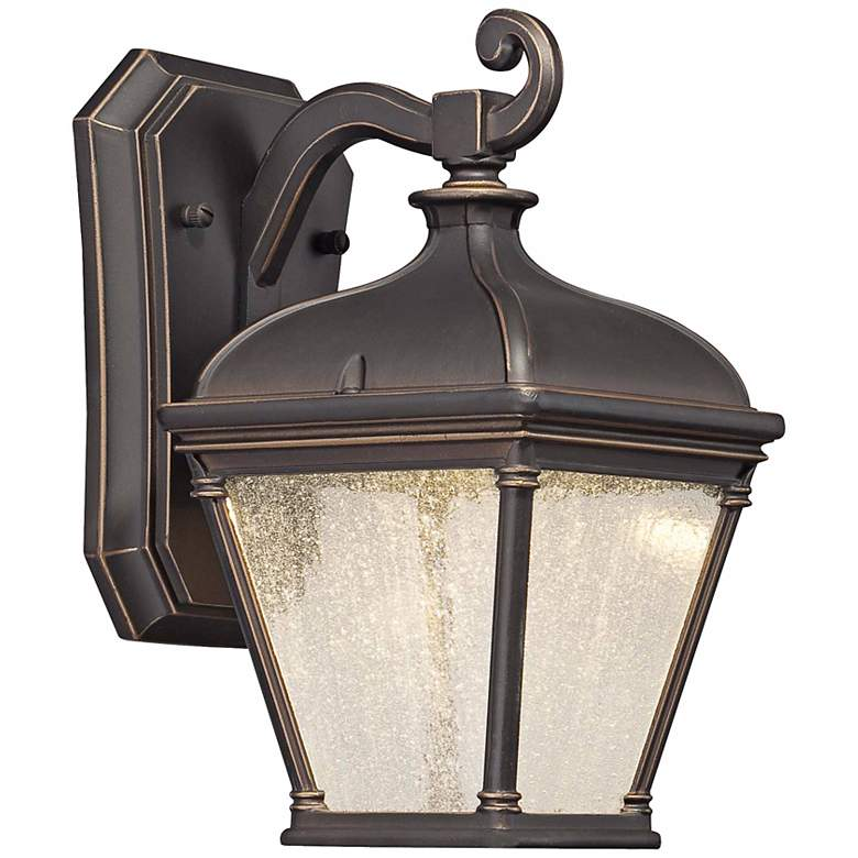 Lauriston Manor 10 High Bronze Led Outdoor Wall Light