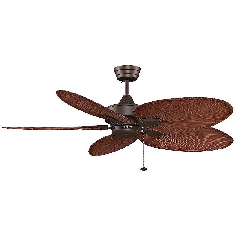 """52"""" Fanimation Windpointe Palm Bronze Ceiling Fan"""