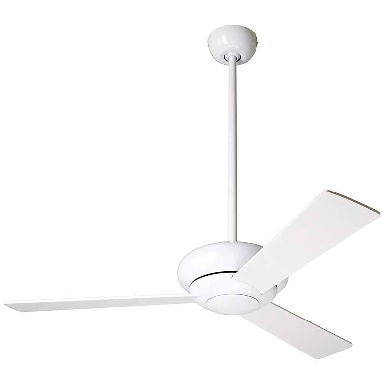 """42"""" Modern Fan Altus Gloss White Ceiling Fan"""