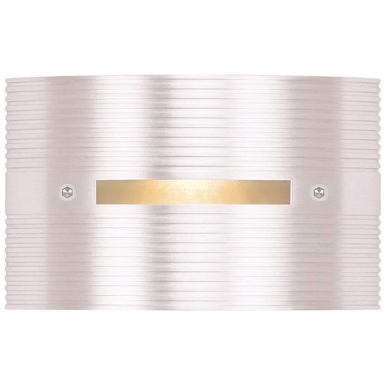 """Matte White Rectangle 4 1/2"""" Wide LED Outdoor Step Light"""