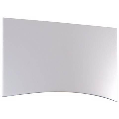 """White 4 1/2"""" Wide LED Step Light"""
