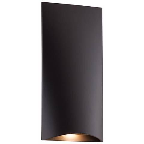 """Deep Bronze Vertical 4 3/4"""" High LED Step Light"""