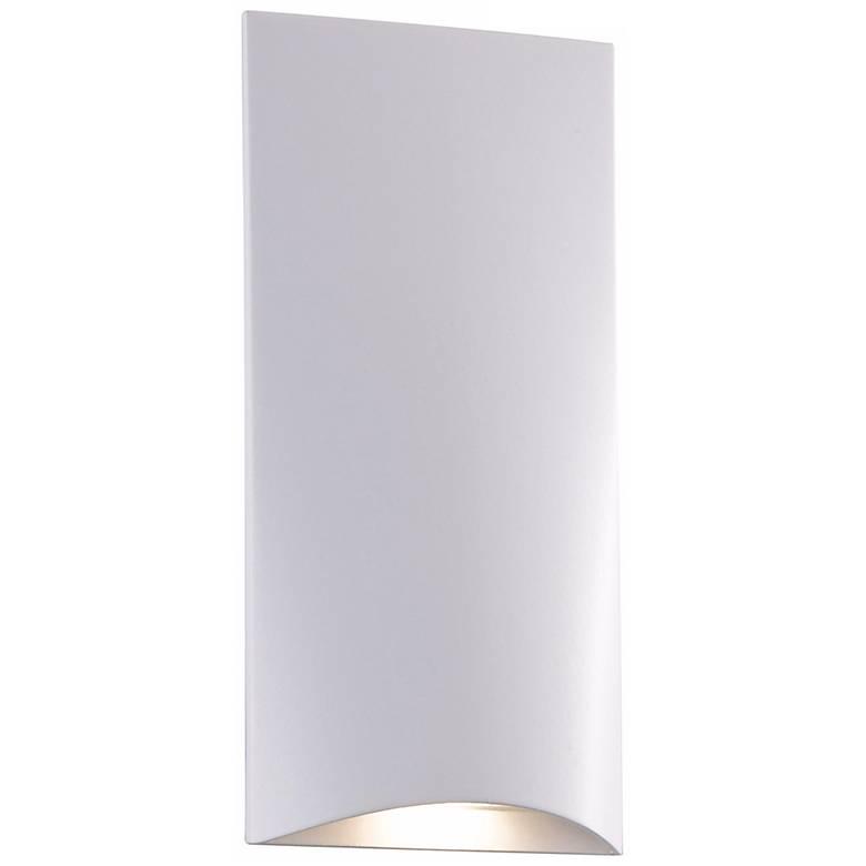 """White Vertical 4 3/4"""" High LED Step Light"""