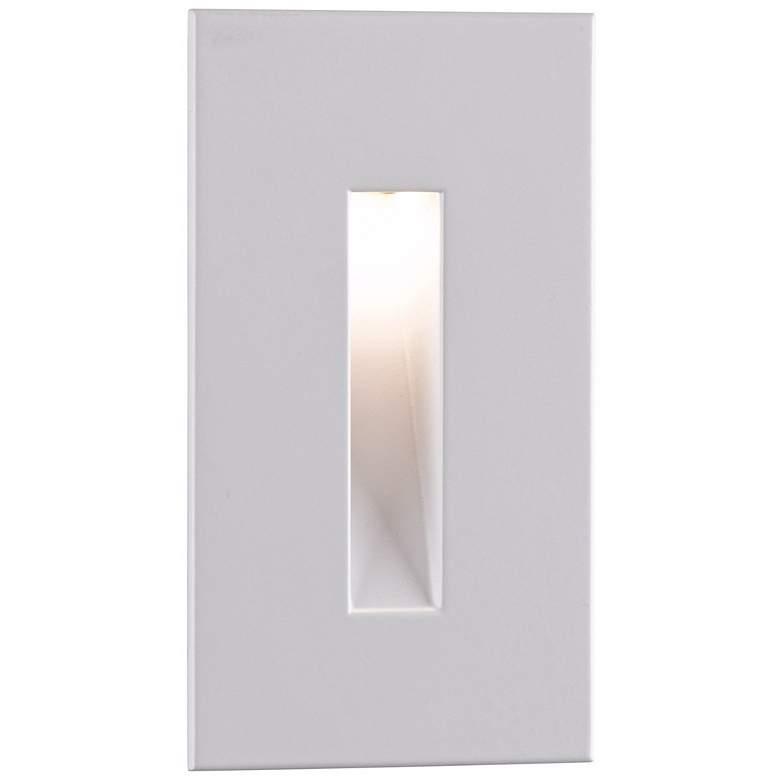 """Border White 4 1/2"""" High LED Step Light"""