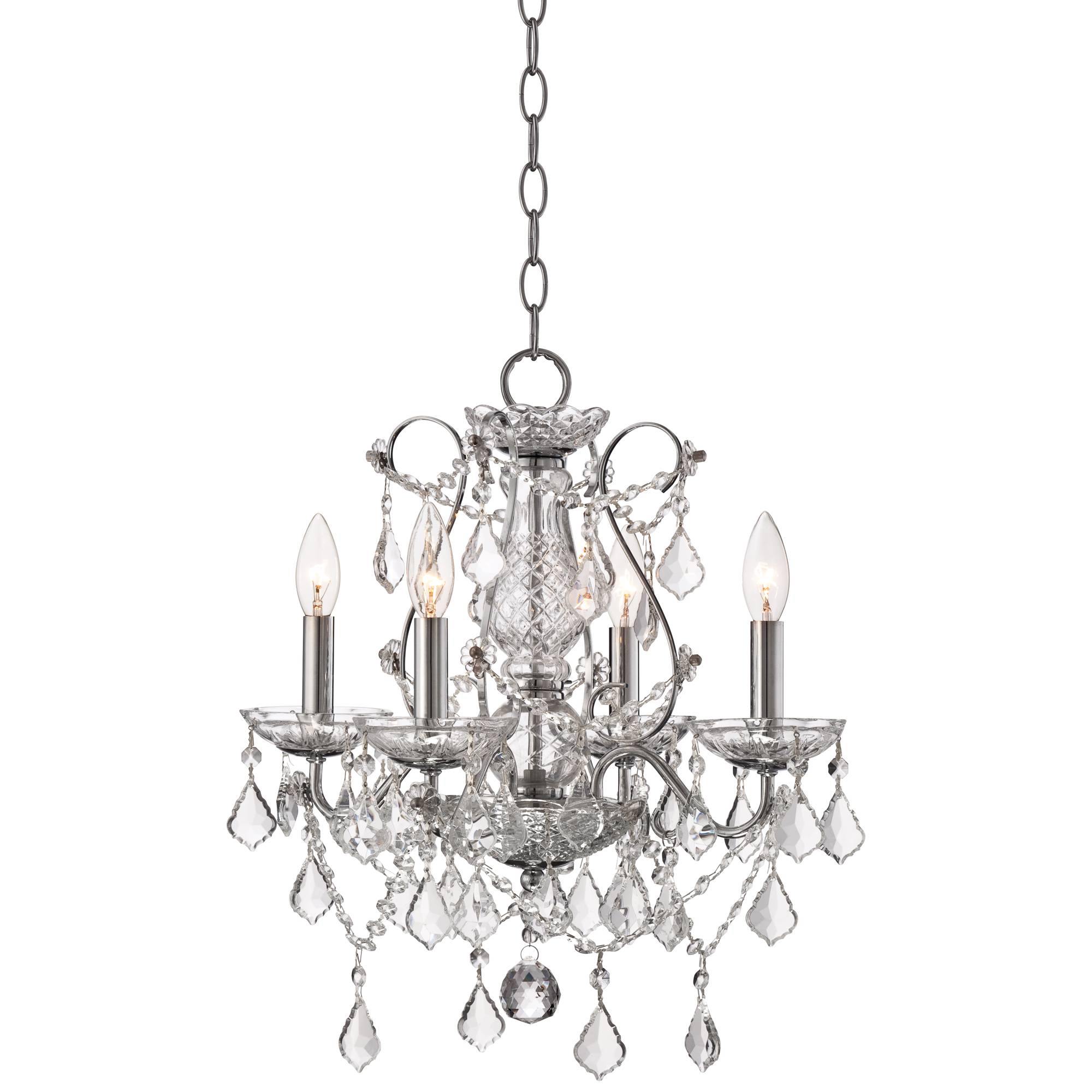 Vienna Full Spectrum Beverly 26 Wide Crystal Chandelier