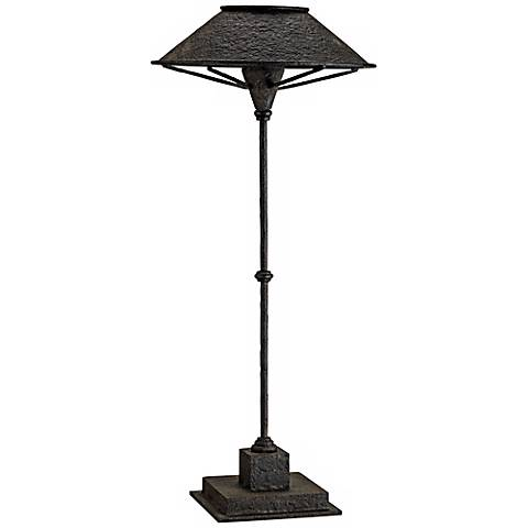 Currey and Company Manuscript Black Table Lamp