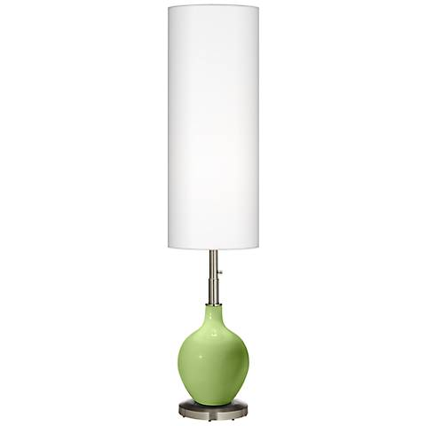 Lime Rickey Ovo Floor Lamp