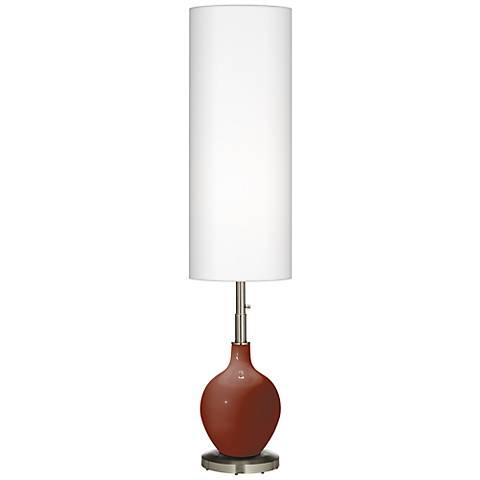 Fired Brick Ovo Floor Lamp