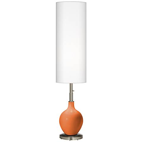 Celosia Orange Ovo Floor Lamp