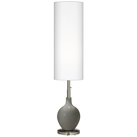 Gauntlet Gray Ovo Floor Lamp