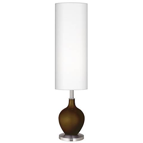 Bronze Metallic Ovo Floor Lamp
