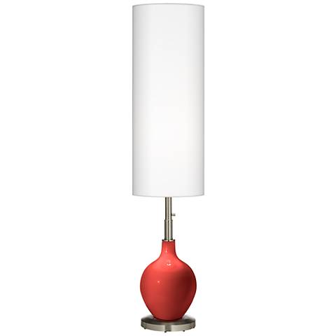 Cherry Tomato Ovo Floor Lamp