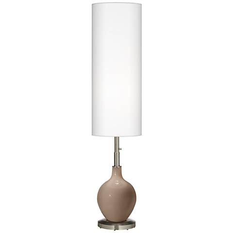 Mocha Ovo Floor Lamp
