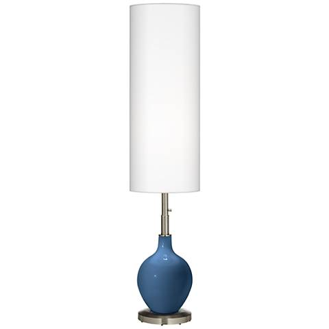 Regatta Blue Ovo Floor Lamp