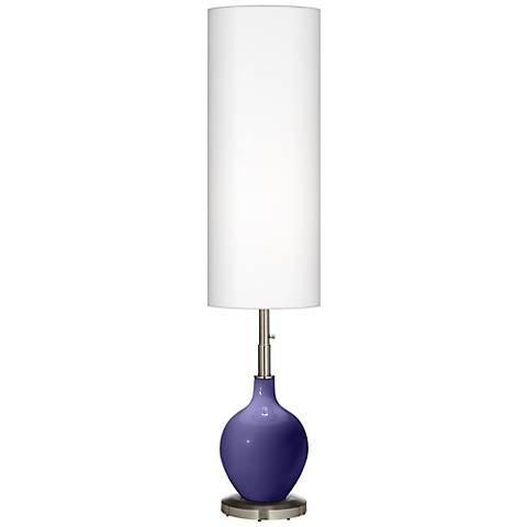 Valiant Violet Ovo Floor Lamp