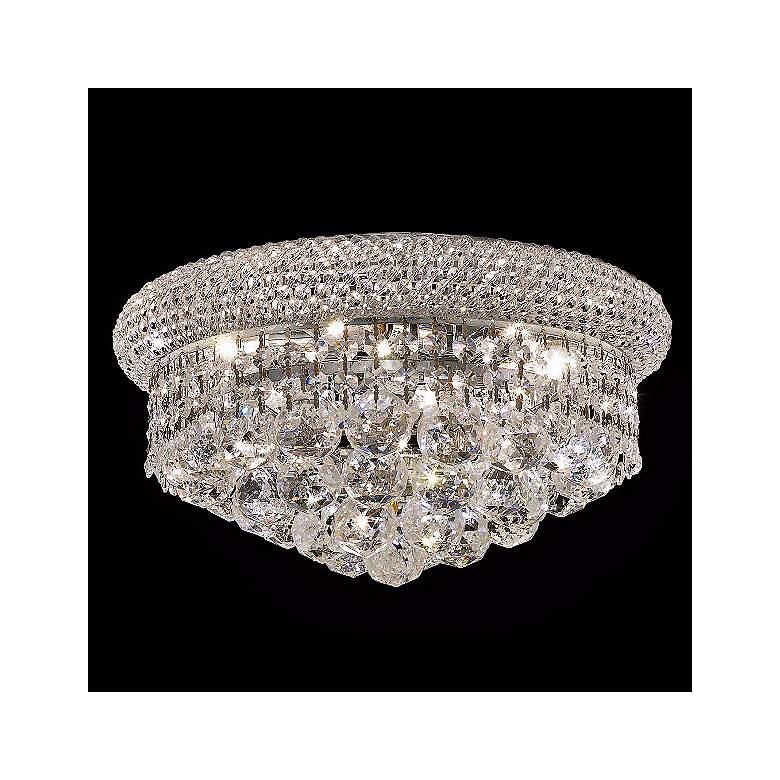 Primo 6 Light Royal Cut Crystal Flushmount Chandelier