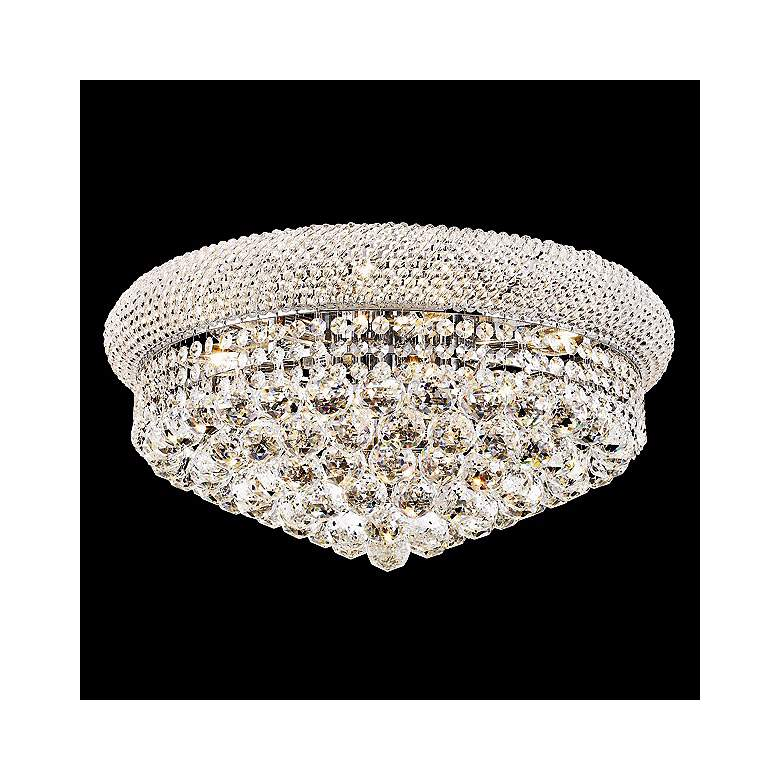 Primo 10-Light  Royal Cut Crystal and Chrome Ceiling Light