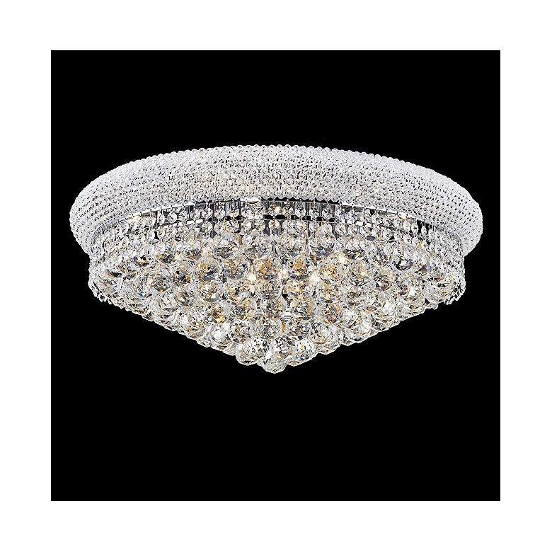 "Primo 24"" Wide 12-Light Cut Crystal Ceiling Light"