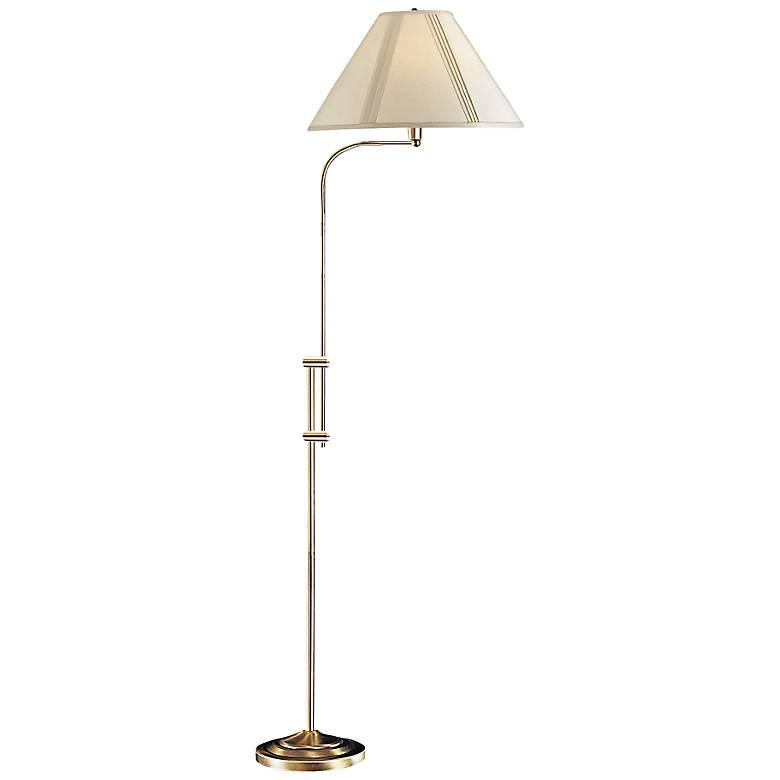 Hartwick Antique Brass Pharmacy Floor Lamp