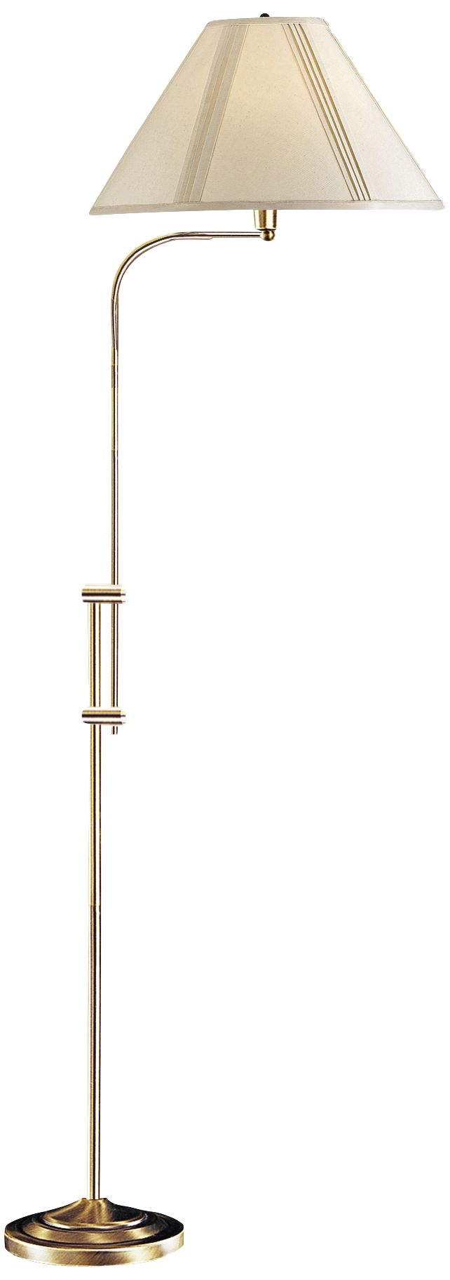 Hartwick Antique Brass Pharmacy Floor Lamp