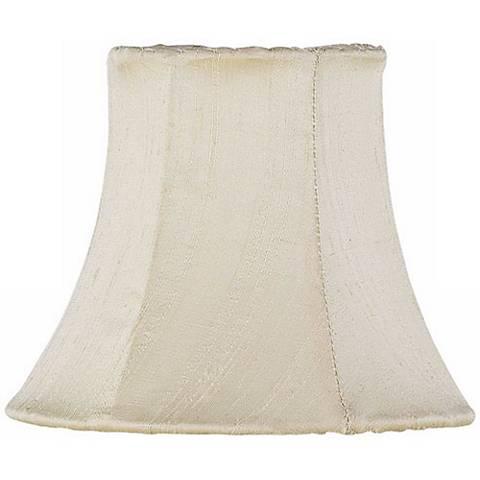 Ivory Silk Shade 3x5x4.25 (Clip-On)