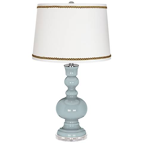 Rain Apothecary Table Lamp with Twist Scroll Trim