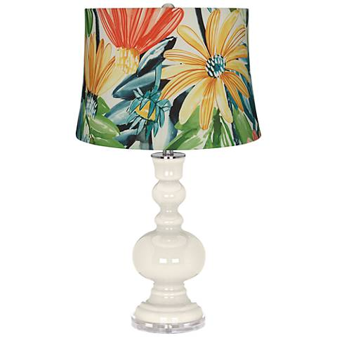 West Highland White Daisies Apothecary Table Lamp