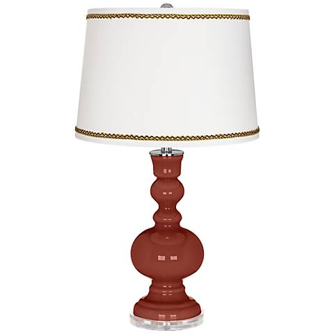 Madeira Apothecary Table Lamp with Twist Scroll Trim