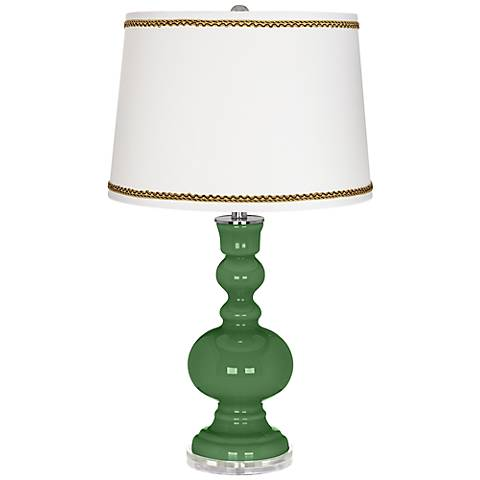 Garden Grove Apothecary Table Lamp with Twist Scroll Trim