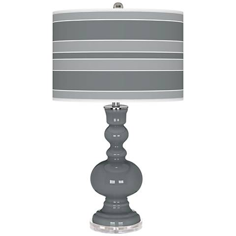 Software Bold Stripe Apothecary Table Lamp