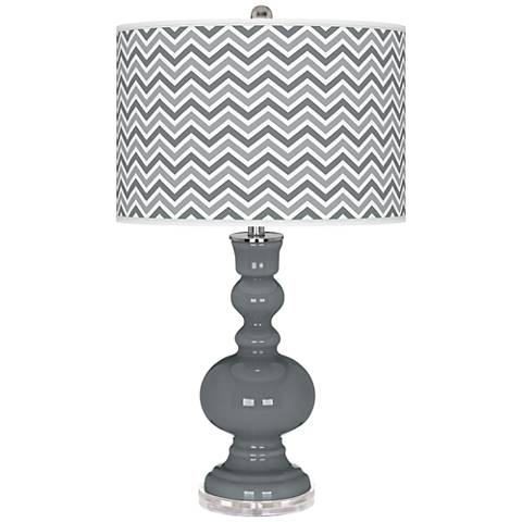 Software Narrow Zig Zag Apothecary Table Lamp