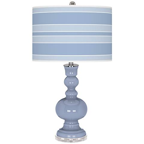 Blue Sky Bold Stripe Apothecary Table Lamp