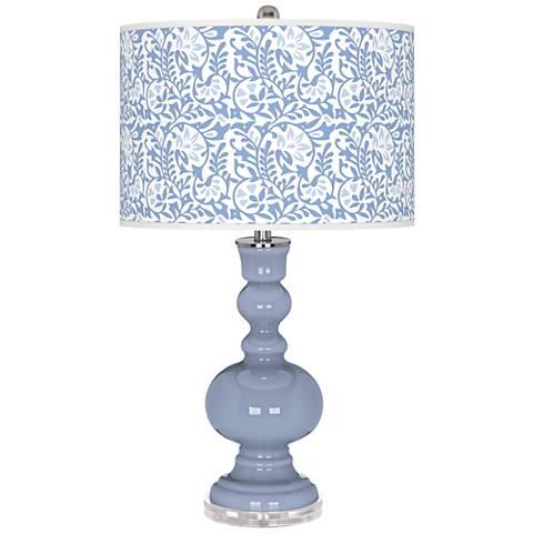 Blue Sky Gardenia Apothecary Table Lamp