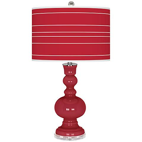 Samba Bold Stripe Apothecary Table Lamp
