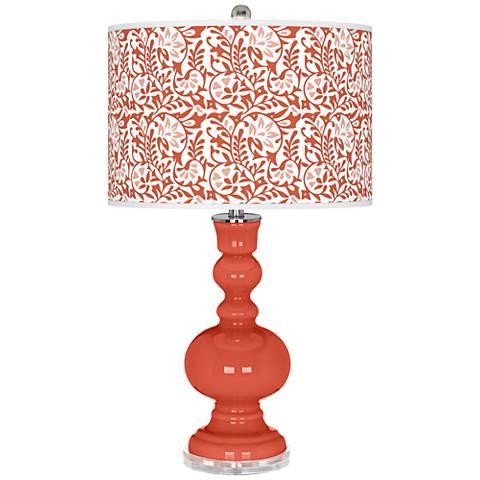 Koi Gardenia Apothecary Table Lamp