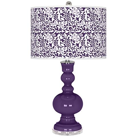 Acai Gardenia Apothecary Table Lamp