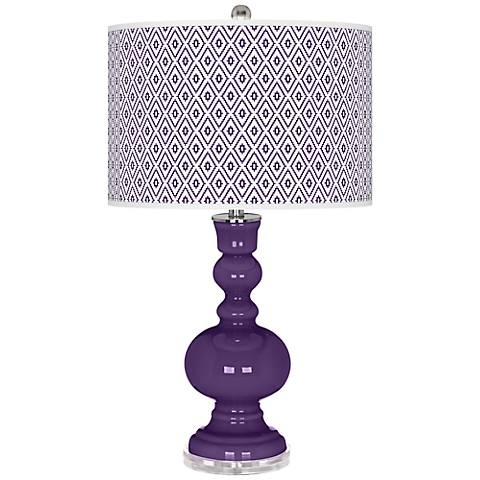 Acai Diamonds Apothecary Table Lamp