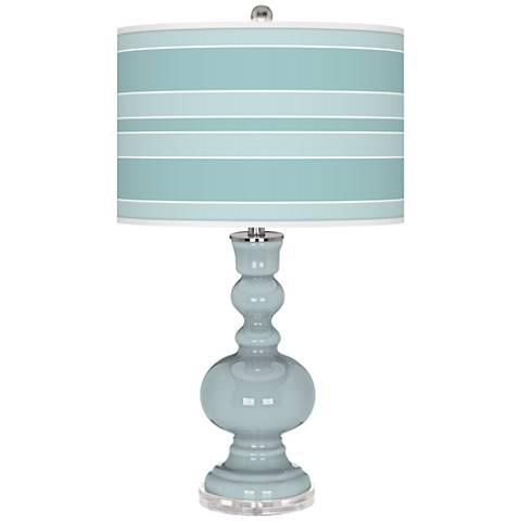 Rain Bold Stripe Apothecary Table Lamp