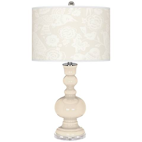 Steamed Milk Aviary Apothecary Table Lamp